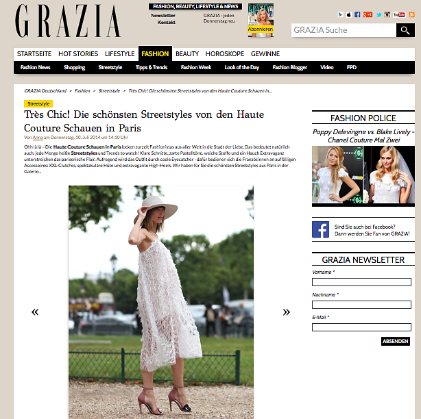 GRAZIA DE (web) 10th/07/2014
