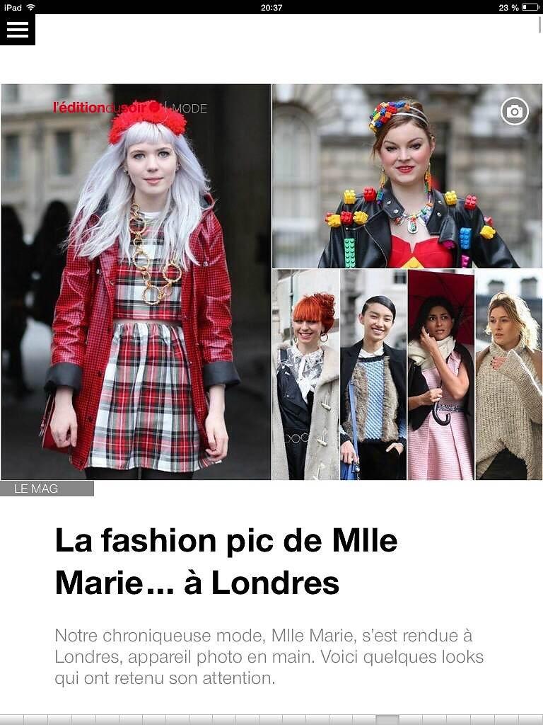 L'EDITION DU SOIR DE OUEST FRANCE (web) 8th/04/2014