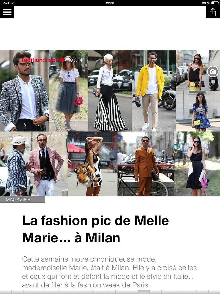 L'EDITION DU SOIR DE OUEST FRANCE (web) 27th/06/2014