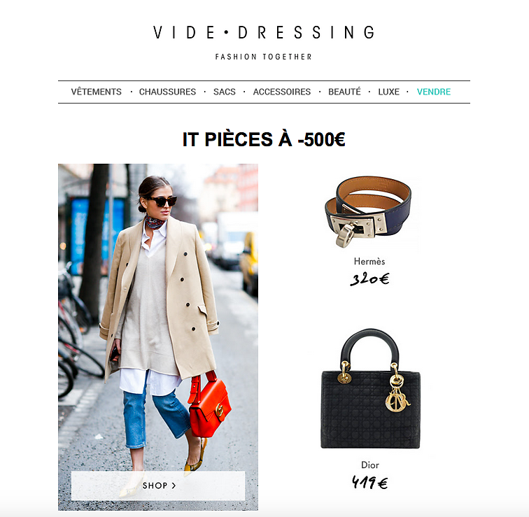 VIDEDRESSING (Newsletter) 19th/03/2016
