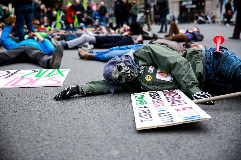 Demonstration against pesticides - Paris (March 2016)