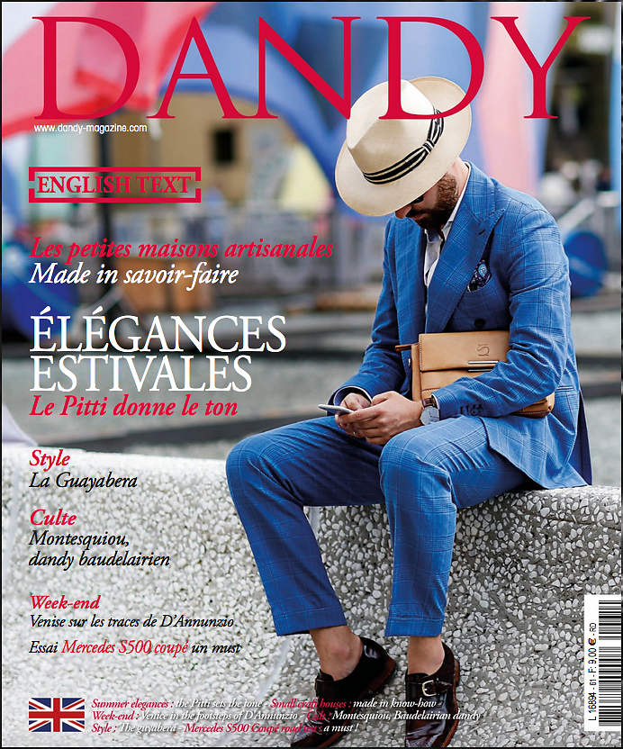 DANDY (print) - Cover - July 2016
