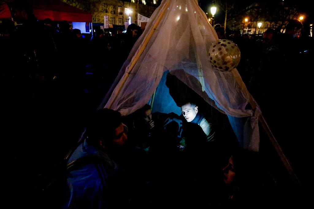 Nuit Debout - Paris april 2016