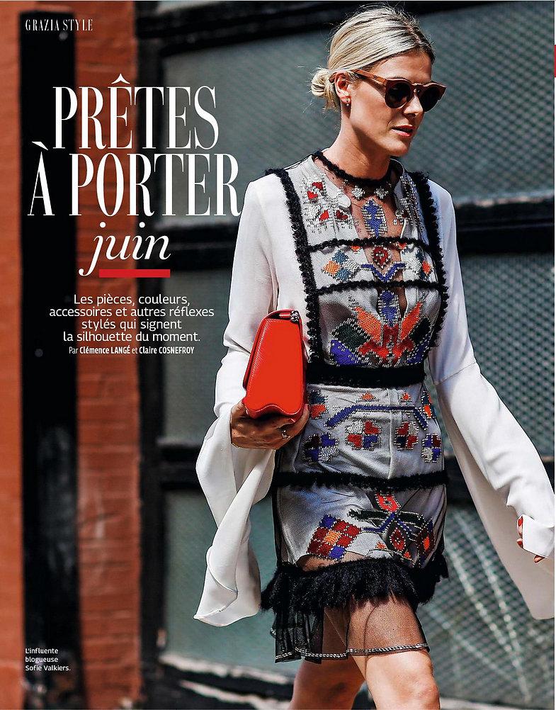 GRAZIA France (Print) - 2nd/06/2017
