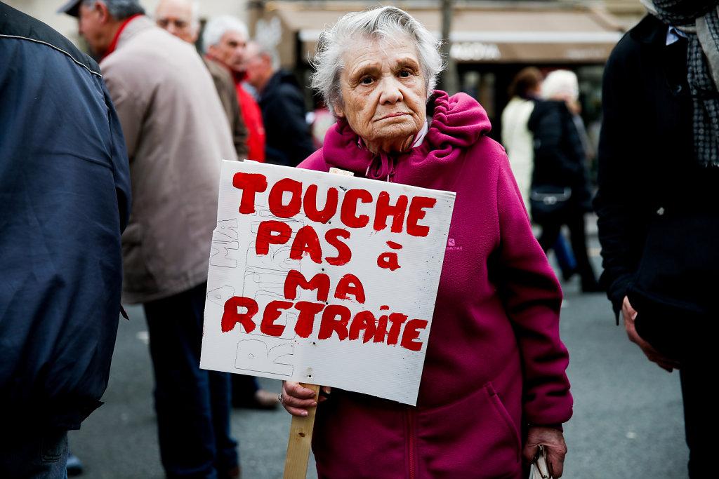 Manifestation des Retraités (2018)