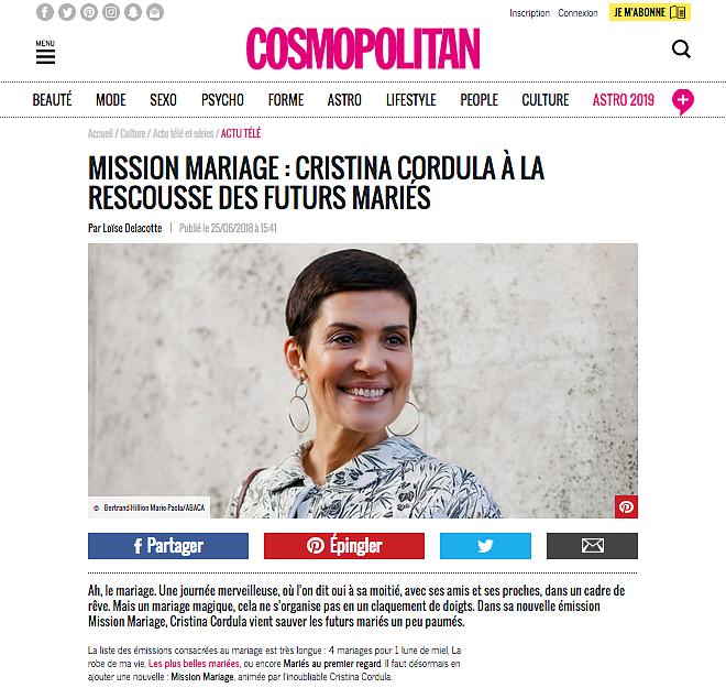 COSMOPOLITAN (Web) 25th/06/2018