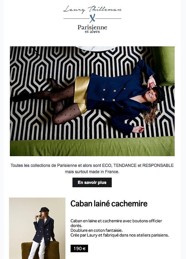 PARISIENNE ET ALORS (Newlsletter) 24th/02/2019