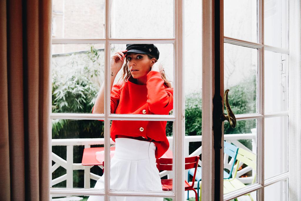 Shooting Parisienne et alors x Laury Thilleman Collection n°3