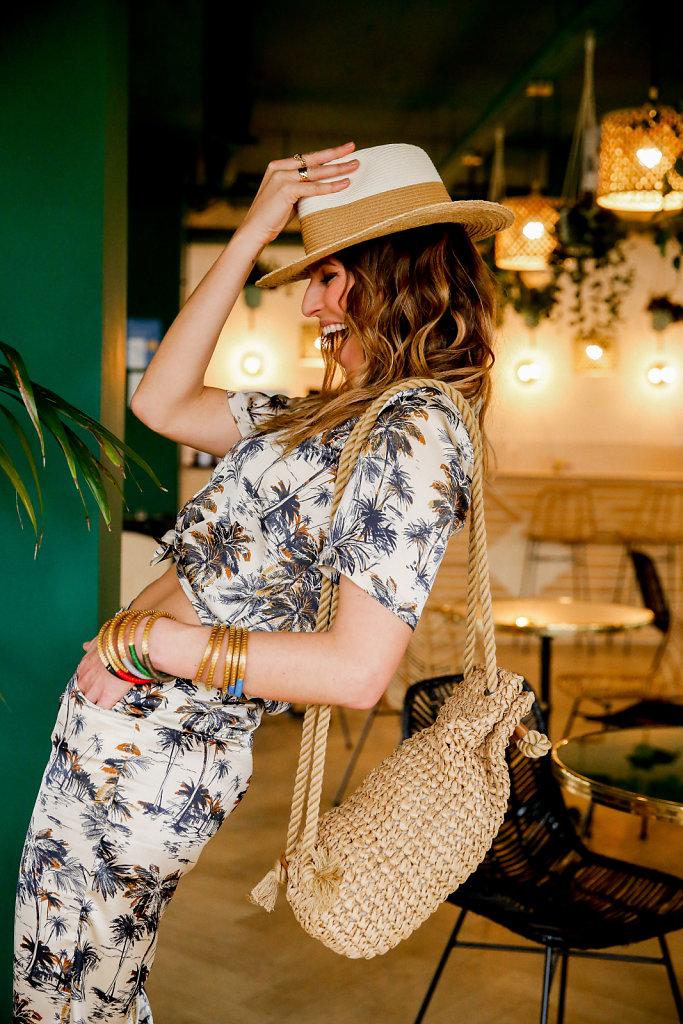 Shooting Parisienne et alors x Laury Thilleman Collection n°4