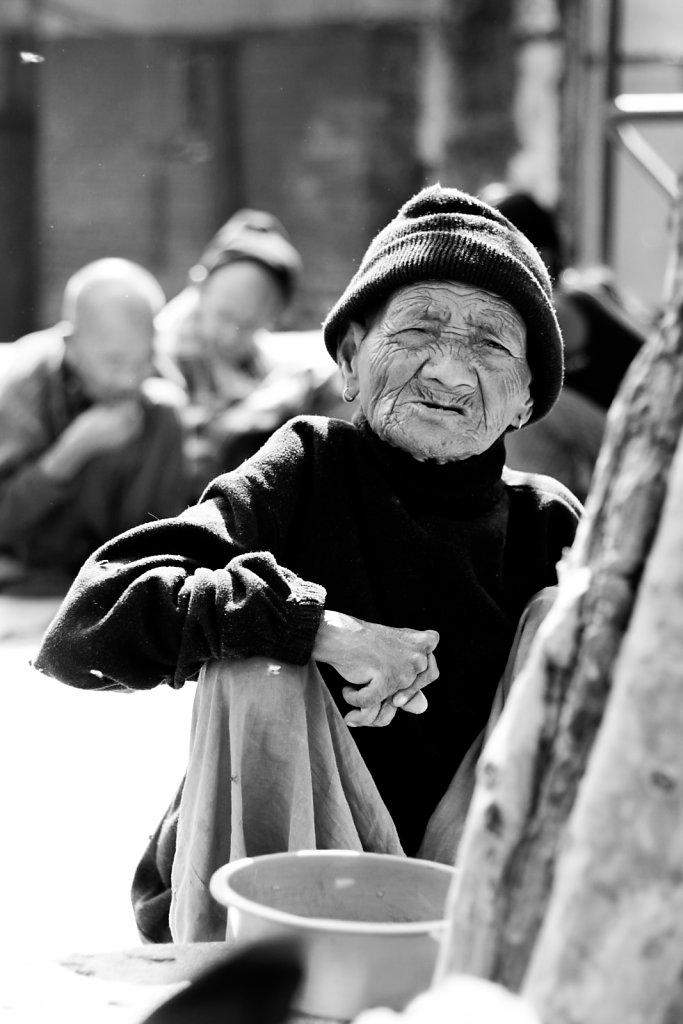 Elderly's Home in Nepal (2012)